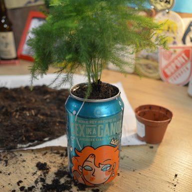 Tuto(p) Beer : Les plantes en canette